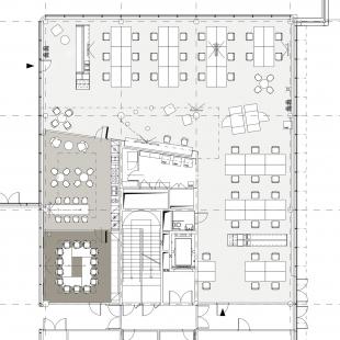 Kanceláře HILTI - Půdorys  - foto: S.H.S architekti