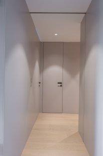 Interiér bytu v novostavbě v Praze
