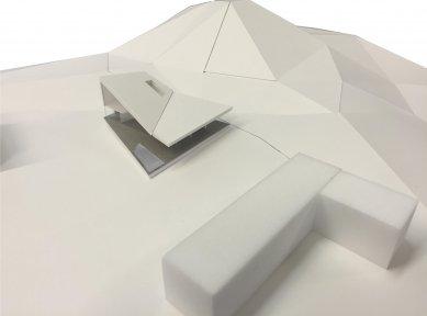 Plechový dům u Lince - Fotografie modelu - foto: Caramel Architekten