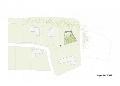 Plechový dům u Lince - Situace - foto: Caramel Architekten