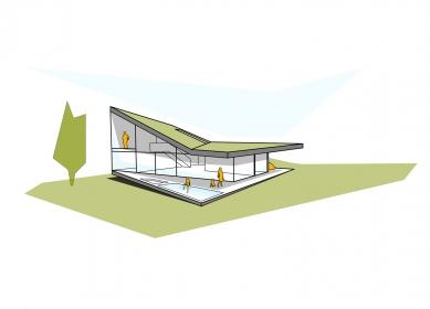 Plechový dům u Lince - Perspektiva - foto: Caramel Architekten