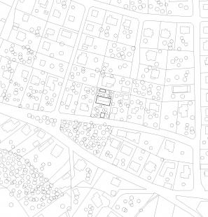 Vila ve staré zahradě - Situace