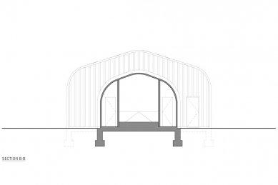 Artfarm  - Příčný řez - foto: HHF Architects