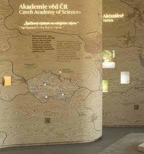 Návštěvnické centrum v areálu průhonického parku a zámku - foto: Tomáš Rasl