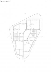 Bytový dům Vila Reden v Chořově - Půdorys 1. patra - foto: Franta Group