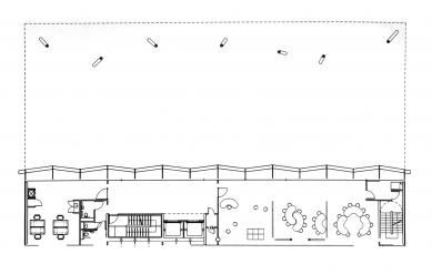 Peckham Library and Media Centre - Půdorys 2NP