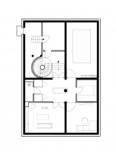 Vila u Postupimi - Půdorys suterénu - foto: Tchoban Voss Architekten