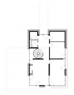 Vila u Postupimi - Půdorys přízemí - foto: Tchoban Voss Architekten
