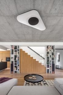 Interiér rodinného domu, Praha - foto: MgA. Tomáš Dittrich