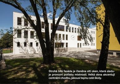 Přístavba pavilonu ZŠ Novoborská - foto: Ondřej Tylčer