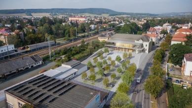Revitalizace areálu sokolovny v Rokycanech - foto: DOUSEK-ZÁBORSKÝ