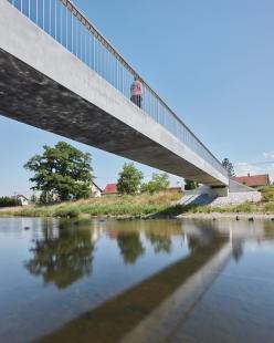 Lávka přes řeku Lubinu v Příboře - foto: BoysPlayNice