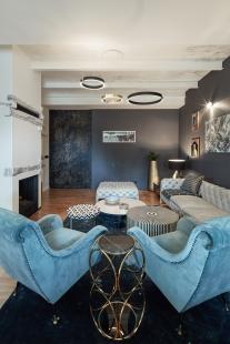Byt pro architekta a sběratele umění - foto: Peter Fabo