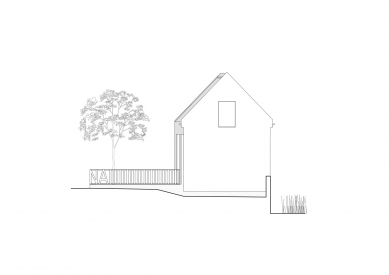 Obecní knihovna ve Statenicích - Pohled - foto: majo architekti