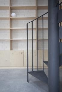 Obecní knihovna ve Statenicích - foto: majo architekti