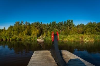 Naučná stezka okolo rybníku Olšina - foto: Jiří Šebek