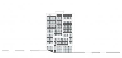 Nové sídlo finanční skupiny J&T - Pohled