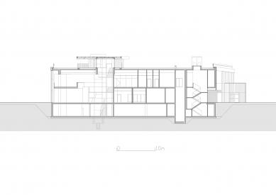 Regional Science-Technology Centre, Podzamcze Chęciny - Řez B - foto: eM4.Pracownia Architektury.Brataniec