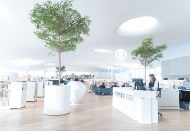 Ústřední knihovna Oodi vHelsinkách - foto: Ants Vahter