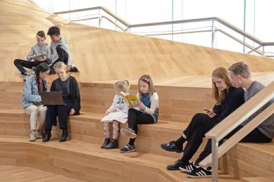 Ústřední knihovna Oodi vHelsinkách - foto: Andrey Shadrin