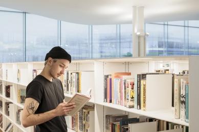 Ústřední knihovna Oodi vHelsinkách - foto: Tuomas Uusheimo