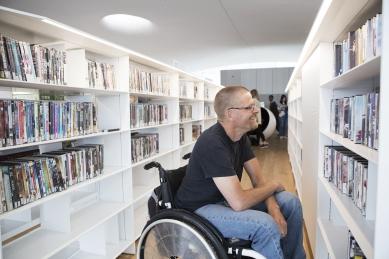 Ústřední knihovna Oodi vHelsinkách - foto: Jonna Pennanen