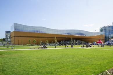 Ústřední knihovna Oodi vHelsinkách - foto: Kuvio