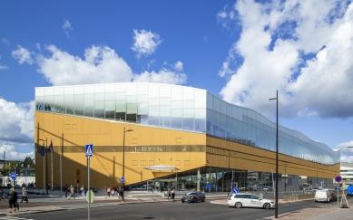Ústřední knihovna Oodi vHelsinkách - foto: Maarit Hohteri