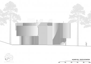 Jetelový dům - Jižní pohled - foto: Double (O)