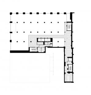 Knihovna Nadace Stavrose Niarchose - Mezanin 1NP