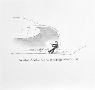 Kreslírna umělecké univerzity Bournemouth - Skica - foto: CRAB Studio