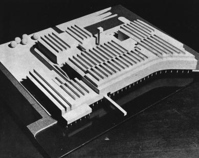Radnice Logroño - Soutěžní návrh radnice v Amsterodamu, 1968 - foto: Rafael Moneo