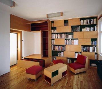 Interiér rodinného domu, Praha - foto: Ester Havlová