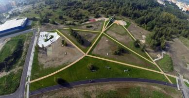 Park 4Dvory - Letecký snímek