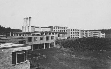 Bývalá škola odborových svazů - Historický snímek 1930