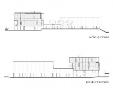 Súkromná základná škola Guliver - Jihozápadní a severovýchodní pohled - foto: + uniformarchitects