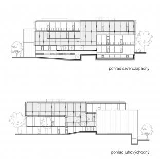 Súkromná základná škola Guliver - Severozápadní a jihovýchodní pohled - foto: + uniformarchitects
