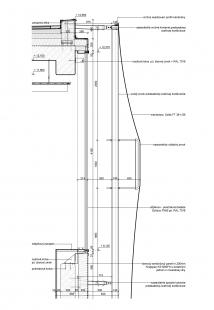 Súkromná základná škola Guliver - Detail membrány - foto: + uniformarchitects