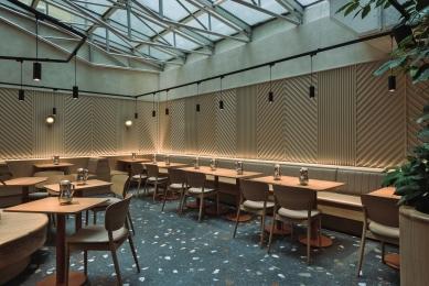 Restaurace Dhaba Beas ve Slovanském domě - foto: Ondřej Teplý