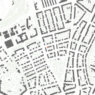 Sized detached house Černá Pole 04 - Situace - foto: knesl kynčl architekti