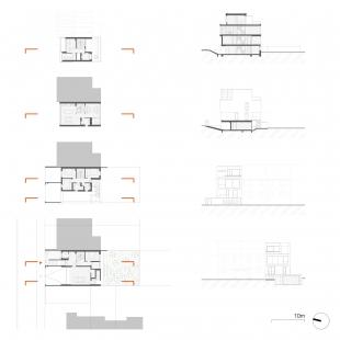 Sized detached house Černá Pole 04 - Plány - foto: knesl kynčl architekti