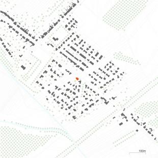 Rodinný dům Troubsko 01 - Situace - foto: knesl kynčl architekti