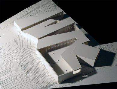 Střední škola v Galisteo - Fotografie modelu - foto: Jesús Granada