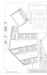 Střední škola v Galisteo - Půdorys přízemí - foto: MGM arquitectos