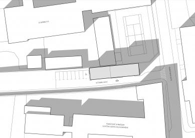 Administratívna budova Veterná - Situace - foto: GRUP architects