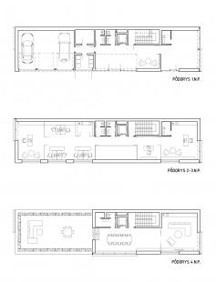 Administratívna budova Veterná - Plány - foto: GRUP architects