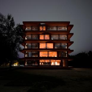 Inovační centrum INES - foto: Pezo von Ellrichshausen