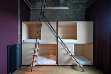 Hostel Silo v Basileji - foto: Petr Šmídek, 2021
