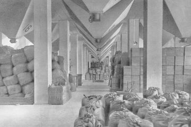 Hostel Silo v Basileji - Historický snímek
