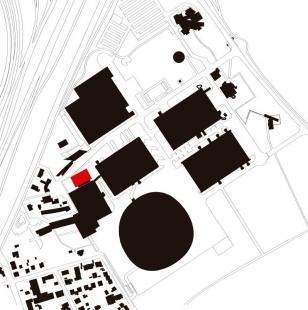 Schaudepot at the Vitra Campus - Situace - foto: Herzog & de Meuron
